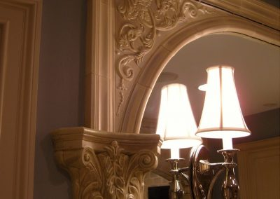 Encore Ceramic mirror surround